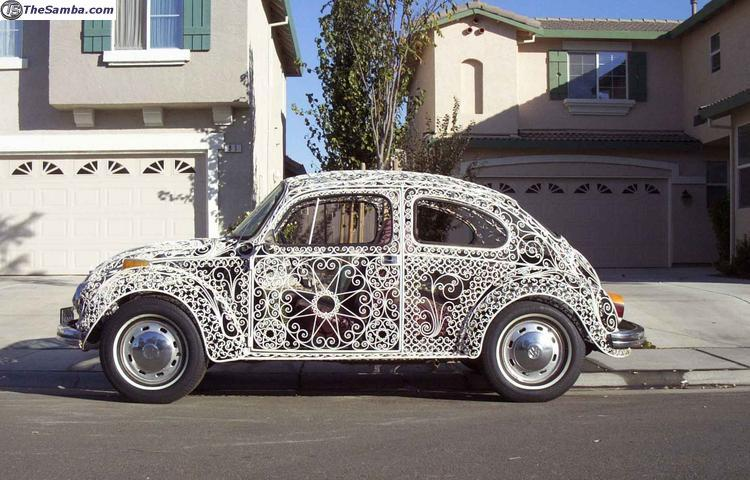 Quot Casa Linda Lace Quot A 1970 S Beetle Body Made Ofwrought Iron